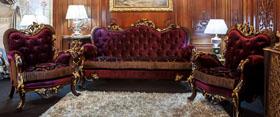 Salones en Mueble Clásico